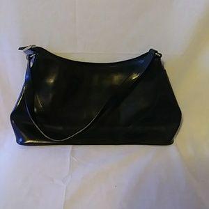 Vera Pelle handle clutch purse